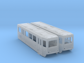 HO Siemens SD160 LRV Bodies in Smooth Fine Detail Plastic