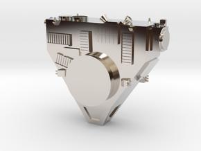 New Horizons Probe Body in Platinum