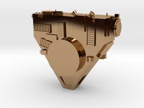 New Horizons Probe Body in Polished Brass