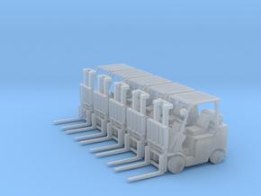 Mitsubishi FGC30N Forklift (N-1:160) 5X in Smoothest Fine Detail Plastic