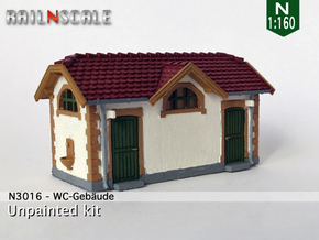 WC-Gebäude 'Winterthur-Töss' (N 1:160) in Frosted Ultra Detail