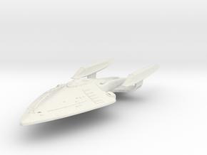 South Creek Class Battleship in White Strong & Flexible