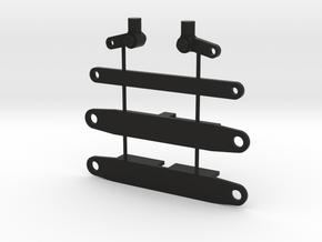 Vorderachse PKW 1 : 87 in Black Natural Versatile Plastic