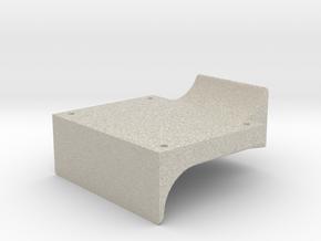 "3/4"" Scale Headlight Bracket in Natural Sandstone"