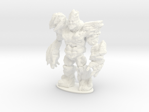 Rocky the Rock Giant in White Strong & Flexible Polished