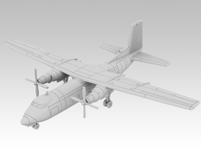 1:200 - Handley Page Dart Herald [Sprue] in Smooth Fine Detail Plastic