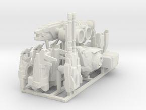 Big mech  in White Natural Versatile Plastic