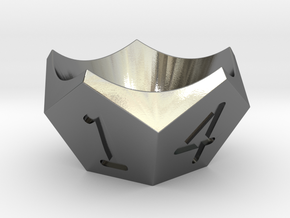 Egg-cup in Polished Silver