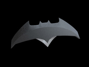 Batarang 2 - Batman vs Superman Dawn of Justice in Black Strong & Flexible