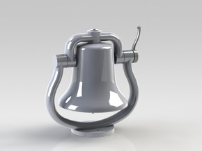 Bell with clapper 1:8 in White Strong & Flexible