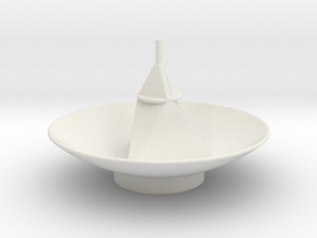 New Horizon's Antenna in White Natural Versatile Plastic