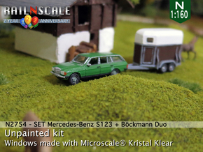 SET Mercedes T + Böckmann Duo (N 1:160) in Smooth Fine Detail Plastic