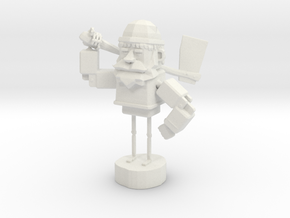 WOODEN-GUY in White Strong & Flexible