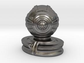 'Robust' robot bust design, model M7-003 in Polished Nickel Steel
