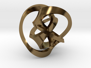 Soliton in Polished Bronze