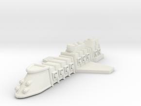 ZD103 Khazâd Destroyer in White Natural Versatile Plastic