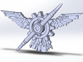 Wings Of Valor in White Processed Versatile Plastic
