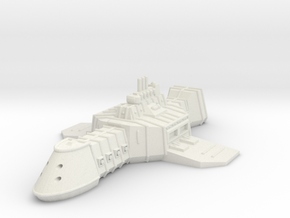 ZD301 Thullzûd Light Carrier in White Natural Versatile Plastic