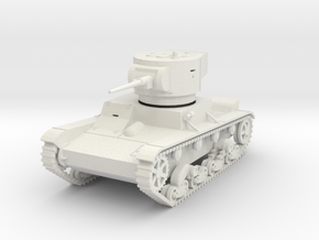 PV15A T26 Light Tank M1933 (28mm) in White Strong & Flexible