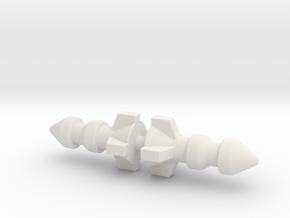 M.A.S.K. Thunderhawk Bombs in White Natural Versatile Plastic