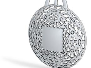 PAh Medalion V2Se495D36h4NULL in Fine Detail Polished Silver