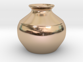 Vase in 14k Rose Gold