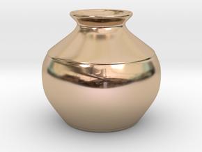 Vase in 14k Rose Gold