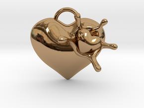 LoveSplash Custom 7 capital letters in Polished Brass