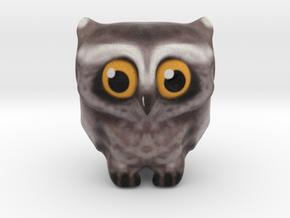 Owl messenger I love You  in Full Color Sandstone