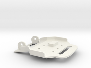 Rocketeer Buckle - Lower in White Natural Versatile Plastic