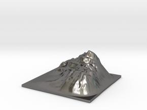 Mountain Landscape 1 in Polished Nickel Steel