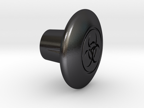 Shooter Rod Knob - Toxic in Polished and Bronzed Black Steel