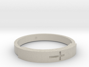 Bracelets with Christ in Natural Sandstone