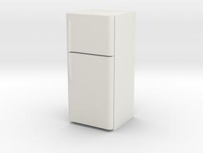 1:24 Fridge (NOT FULL SIZE) in White Natural Versatile Plastic