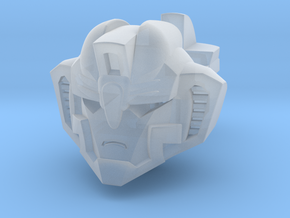 Neo Seeker Head - Angry in Smooth Fine Detail Plastic