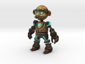 Clockwork Robot in Full Color Sandstone