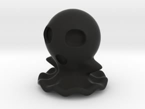 Halloween Hollowed Figurine: FullBodyGhosty in Black Natural Versatile Plastic