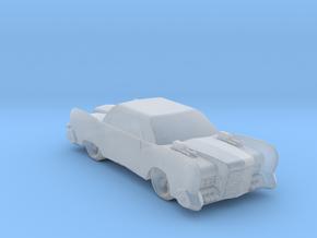 Retro Green Hornet Car in Smooth Fine Detail Plastic