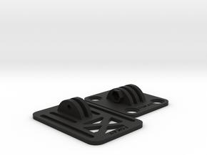 Mobius / RunCam HD / Legend 1 FPV Base for ZMR-250 in Black Natural Versatile Plastic