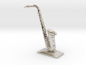 Alto Saxophone (Metals) in Rhodium Plated Brass