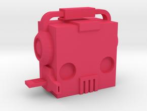 Machine Gun Pinky in Pink Processed Versatile Plastic