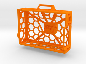 GoPro Spider Frame in Orange Strong & Flexible Polished