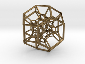 Inversion of 15 Truncated Octahedra in Natural Bronze