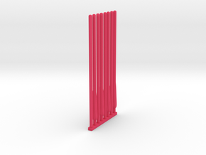 ACC-16-Ninja Laser Blades  6-7inch in Pink Processed Versatile Plastic