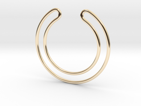 Expression - pendant collection in 14k Gold Plated Brass