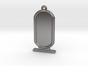 Customizable Ancient Egyptian Cartrouche in Polished Nickel Steel