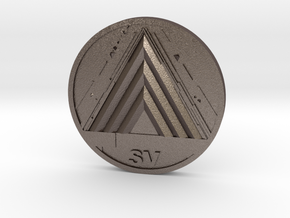 VoG Coin in Stainless Steel
