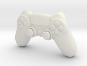 BJD DOLL: PS4 Controller 1/6 yosd size in White Natural Versatile Plastic