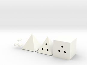 Sumo Model in White Processed Versatile Plastic