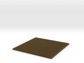 Scale Model Rivets.  2070x 0.85mm Diameter Rivets in Natural Bronze